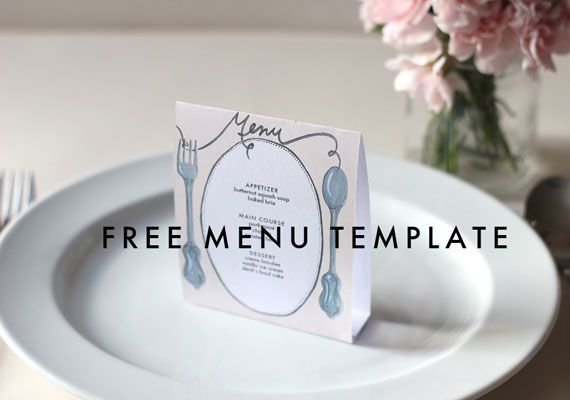 photo regarding Printable Wedding Menus named Cost-free Printable Wedding ceremony Menus